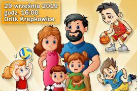 Plakat Rodzinny Piknik Sportowy